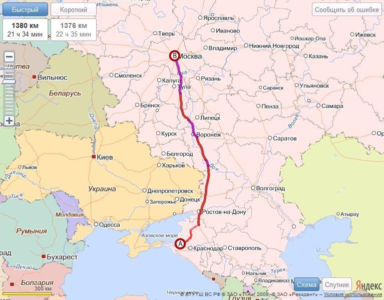 Карта Славянск На Кубани