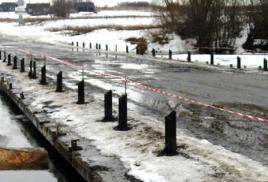 Паводковый период 2013 весенняя распутица